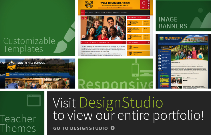 Visit DesignStudio to view our entire Portfolio. Click here to visit.